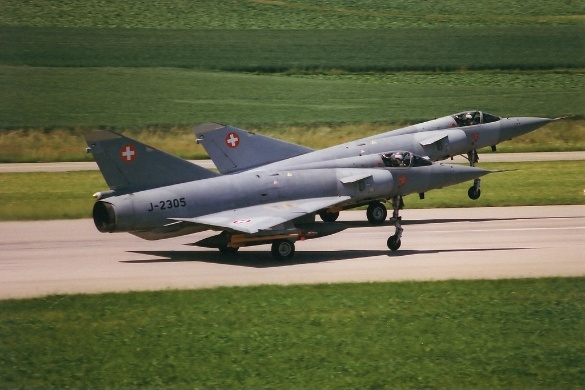 Mirage IIIS in Payerne